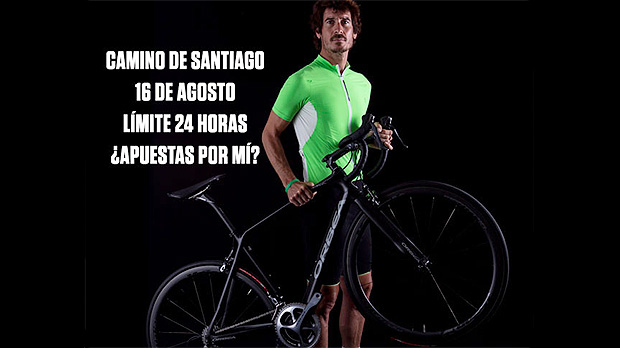 ¿Será Mikel Azparren capaz de completar El Camino De Santiago en 24 Horas? Mikel-Azparren-Orbea