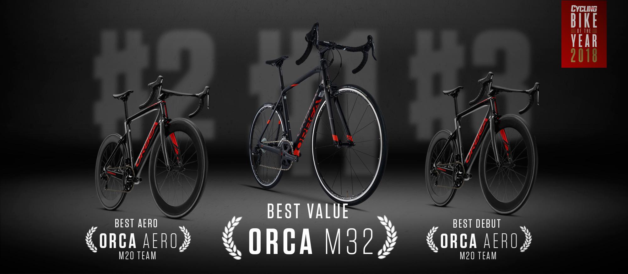 we're bike of the year in the united kingdom! — orbea