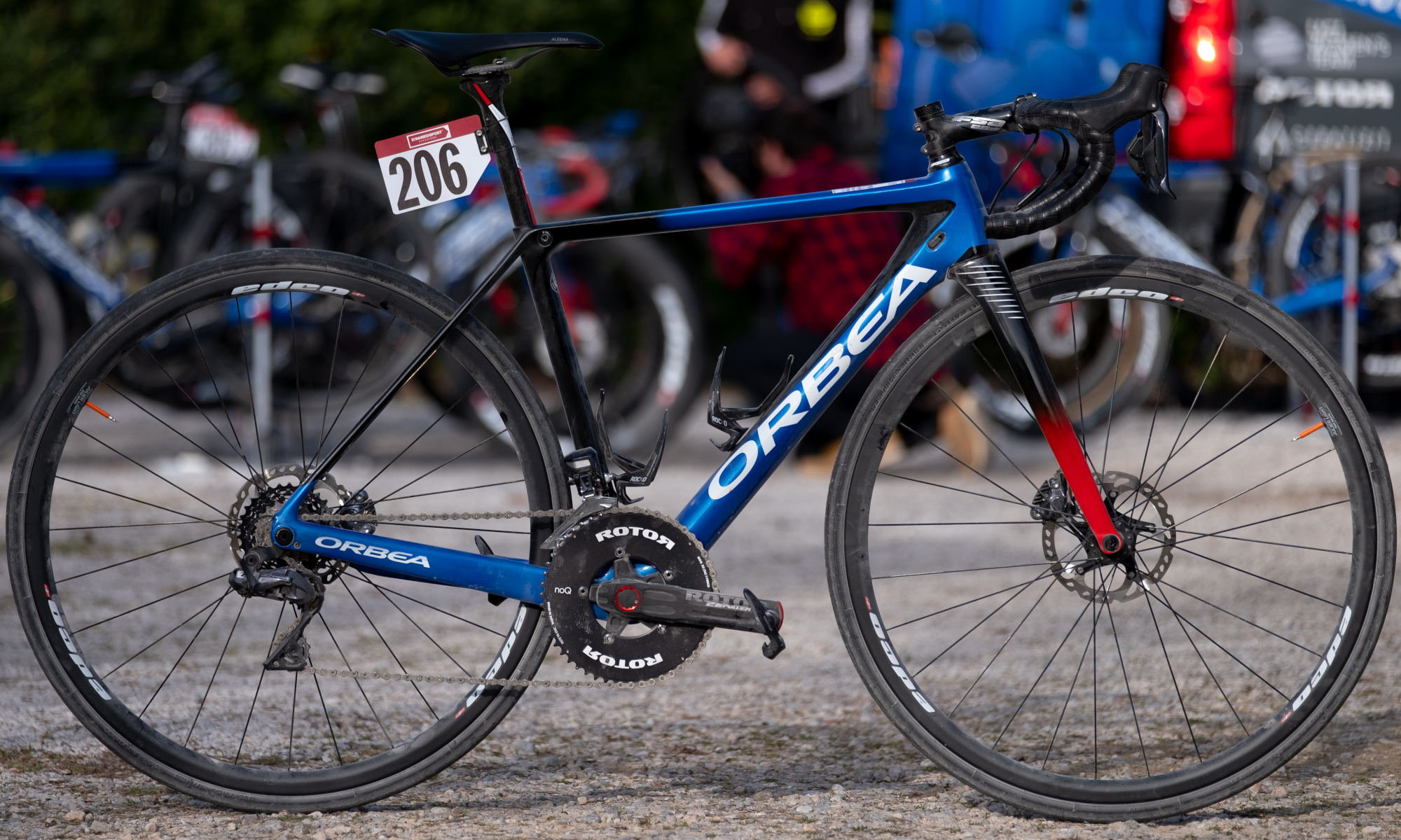 Orbea Strade Bianche WNT Rotor Cycling Team