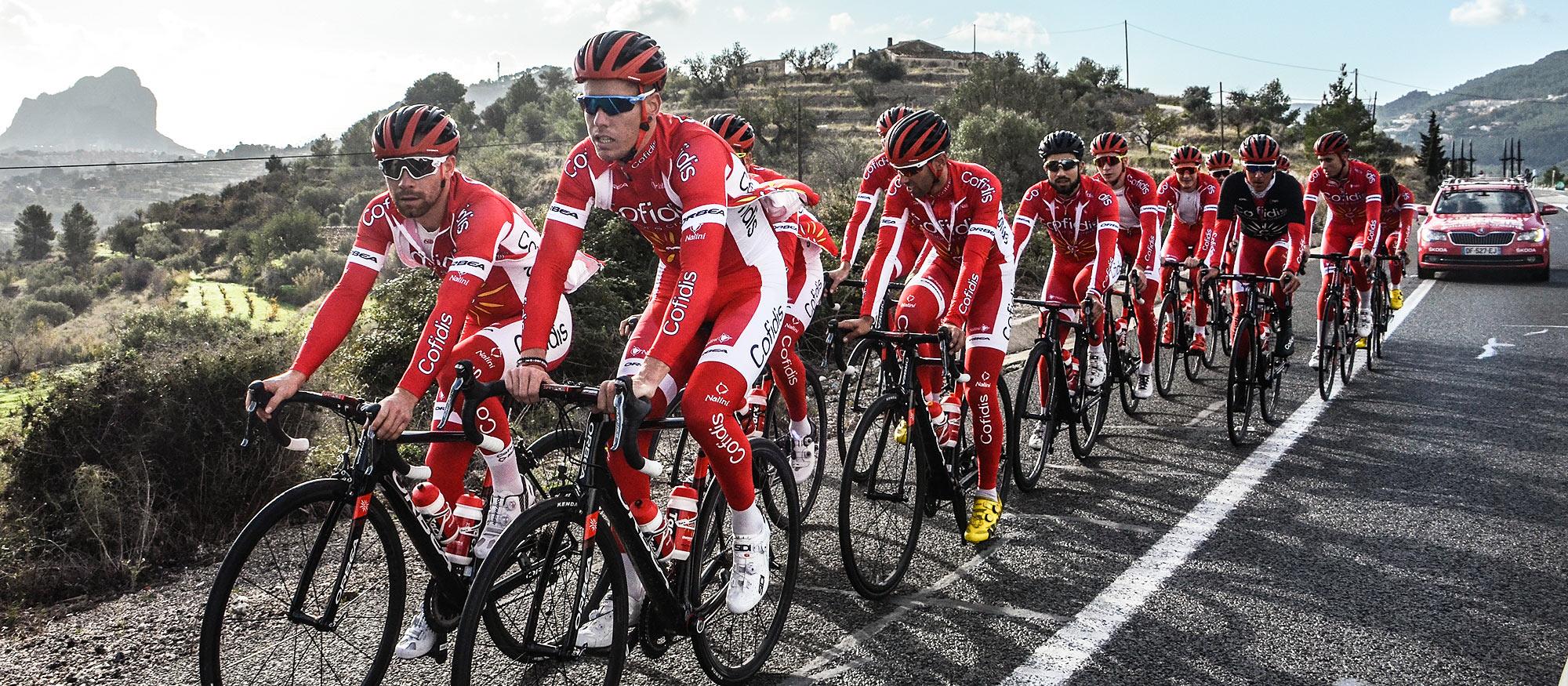 Cofidis Cycling  Tour De France