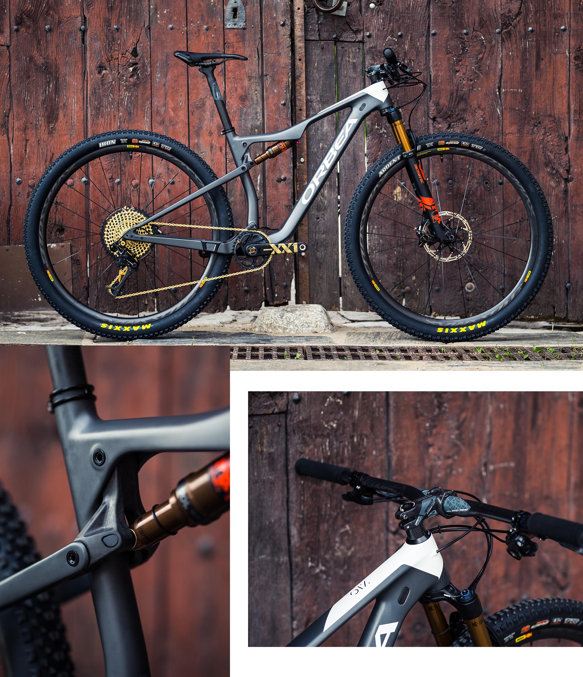 Aiming for the top with the press — Orbea
