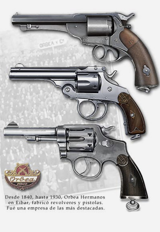 Many important international patents were held in Spain by Orbea Brothers, with other gunmakers like Smith and Wesson holding them in high regard