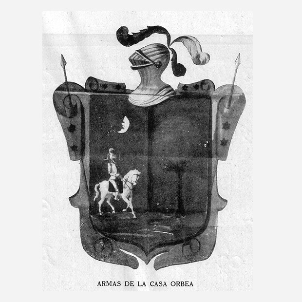The shield of Orbea was Unzaga Tower in the heart of Eibar until the company grew and historical construction began