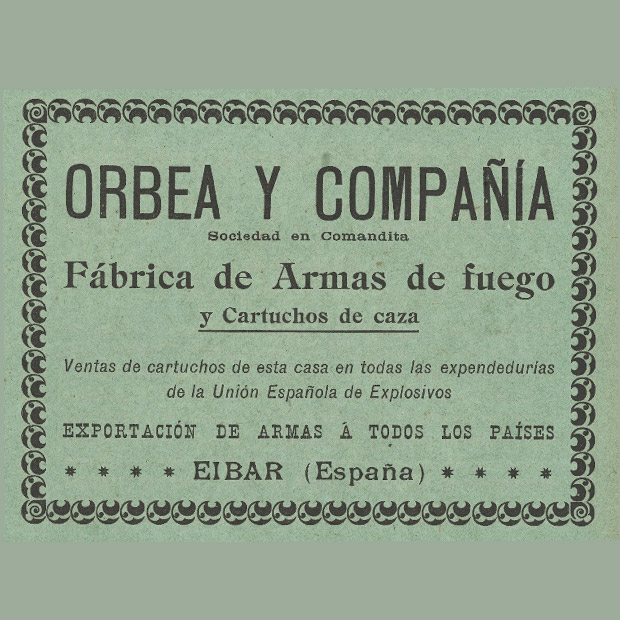 With the help of the Spanish Explosives Union, Orbea and Co. began manufacturing ammunition, and even opened a factory in Buenos Aires