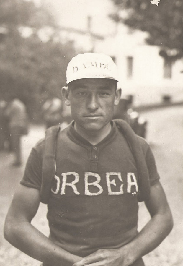 Mariano Cañardo, with a hand-stitched jersey, was the first great ambassador of Orbea