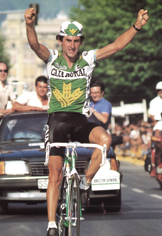 Marino Lejarreta won the Clásica de San Sebastián for Orbea, a coveted international victory