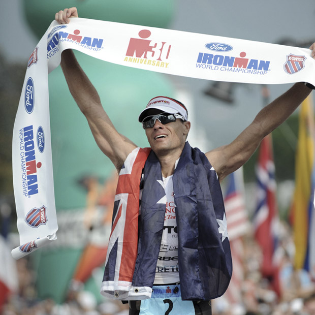 Twice, Craig Alexander and Ordu took the top step in the Ironman world championships
