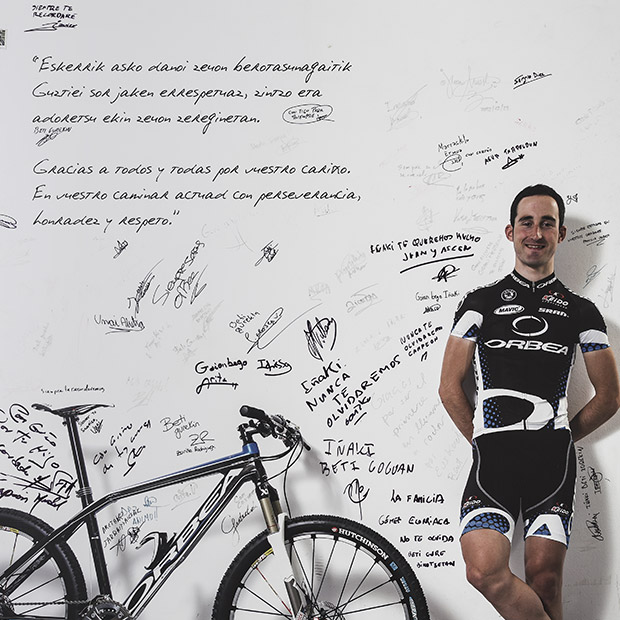 Following his tragic death, Iñaki Lejarreta left a gaping hole at Orbea, where we feel he grew up, and us with him
