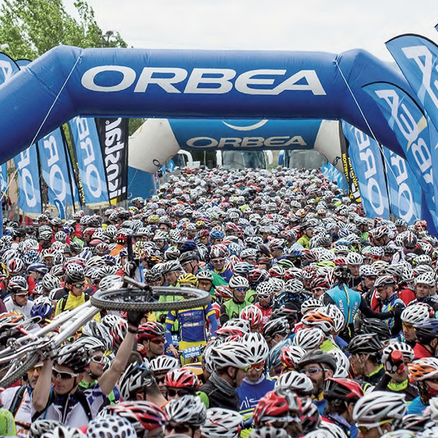 Nobody wants to miss their date with the Monegros marathon, one of the most demanding mountain bike events in the world