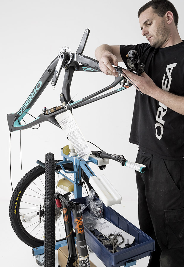 The workmanship of Orbea is still our standby