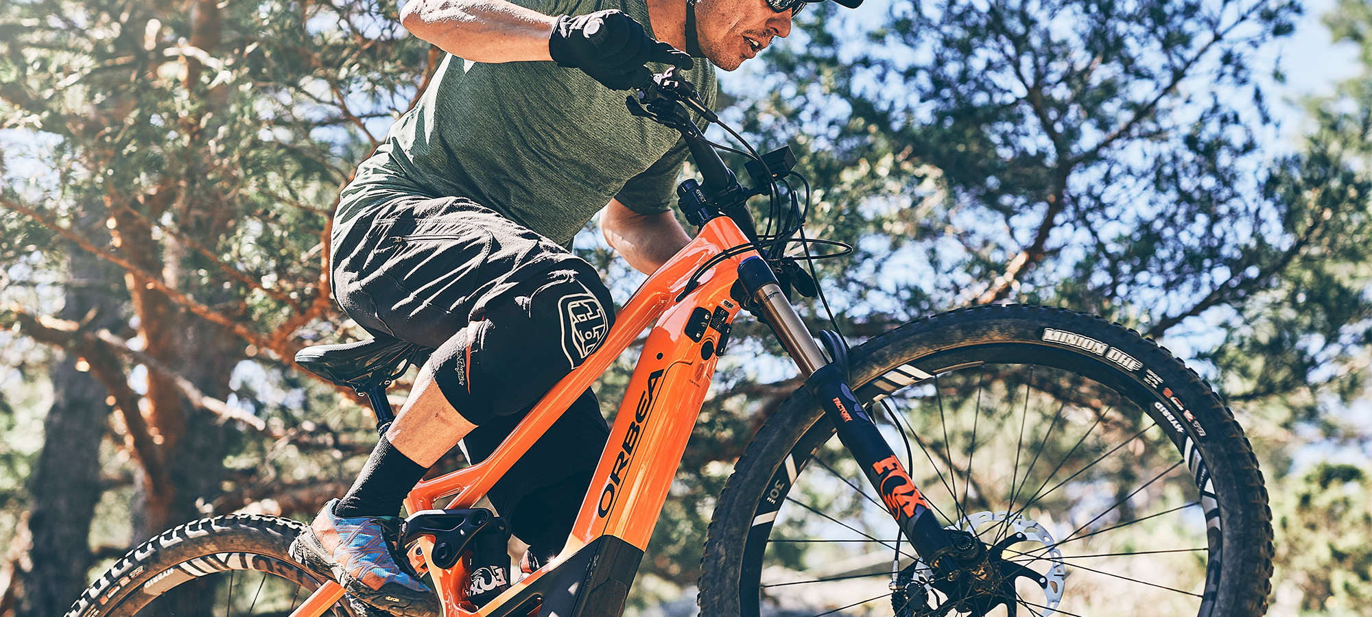 Orbea electric mountain bikes