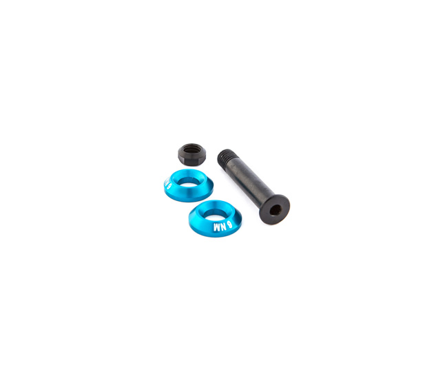 RALLON UPPER SHOCK MOUNT PIVOT KIT Nº8 - BLUE