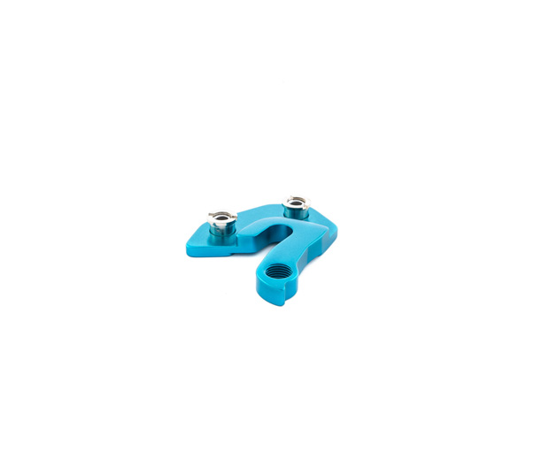 BLUE RIGHT DERAILLEUR HANGER FOR RALLON MODELS