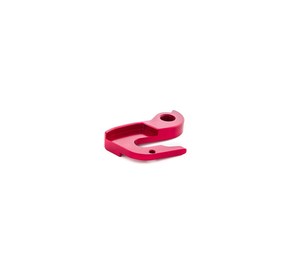 RED DERAILLEUR HANGER FOR ORCA GOLD ELECTRONIC MODELS