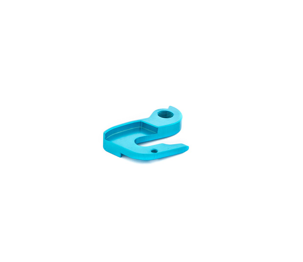 BLUE DERAILLEUR HANGER FOR ORCA GOLD ELECTRONIC MODELS