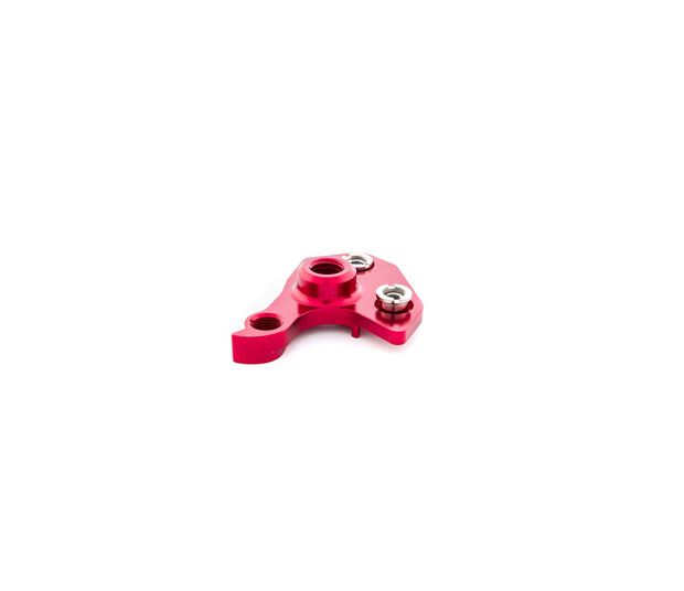 RALLON 12MM RIGHT DROPOUT/DERAILLEUR HANGER - RED