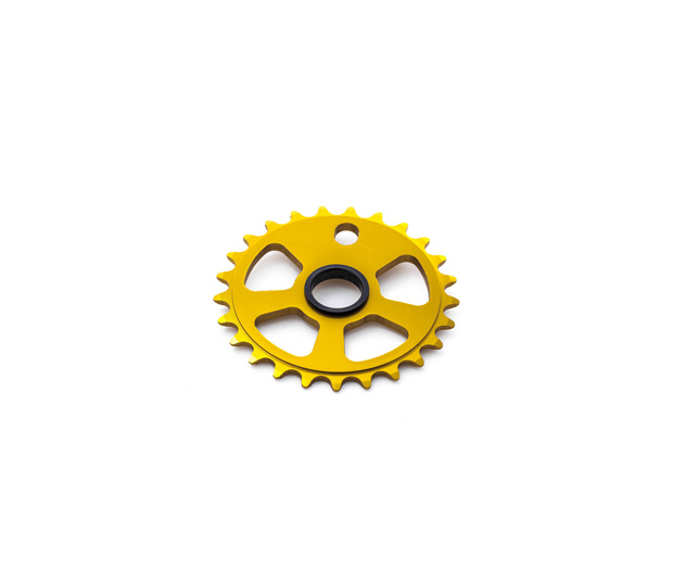 KIT CRANK 25T GOLD RUDE