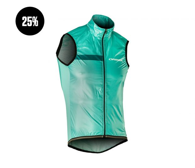 MEN WINDBREAKER GILET ORBEA