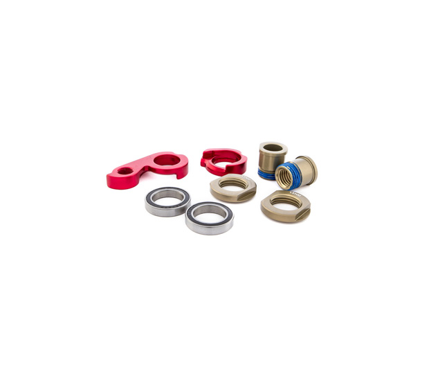 RED DROP OUT KIT FOR AXLE X12 FOR OCCAM MODELS