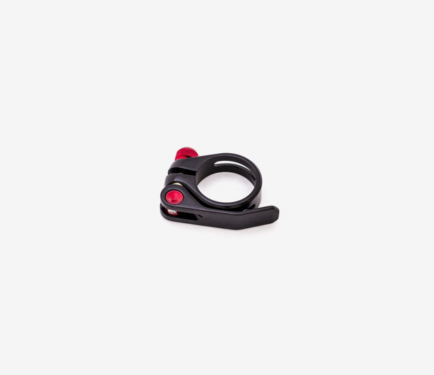 349 BLACK ALUMINUM SEAT POST CLAMP