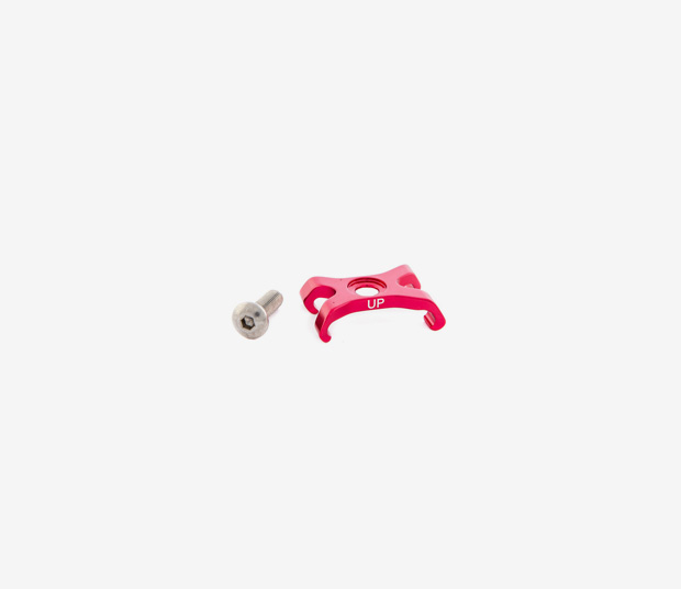 OCCAM DOWN TUBE CABLE GUIDE - RED