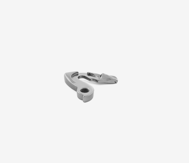 ORCA GOLD/SILVER MECHANICAL DERAILLEUR HANGER - GREY