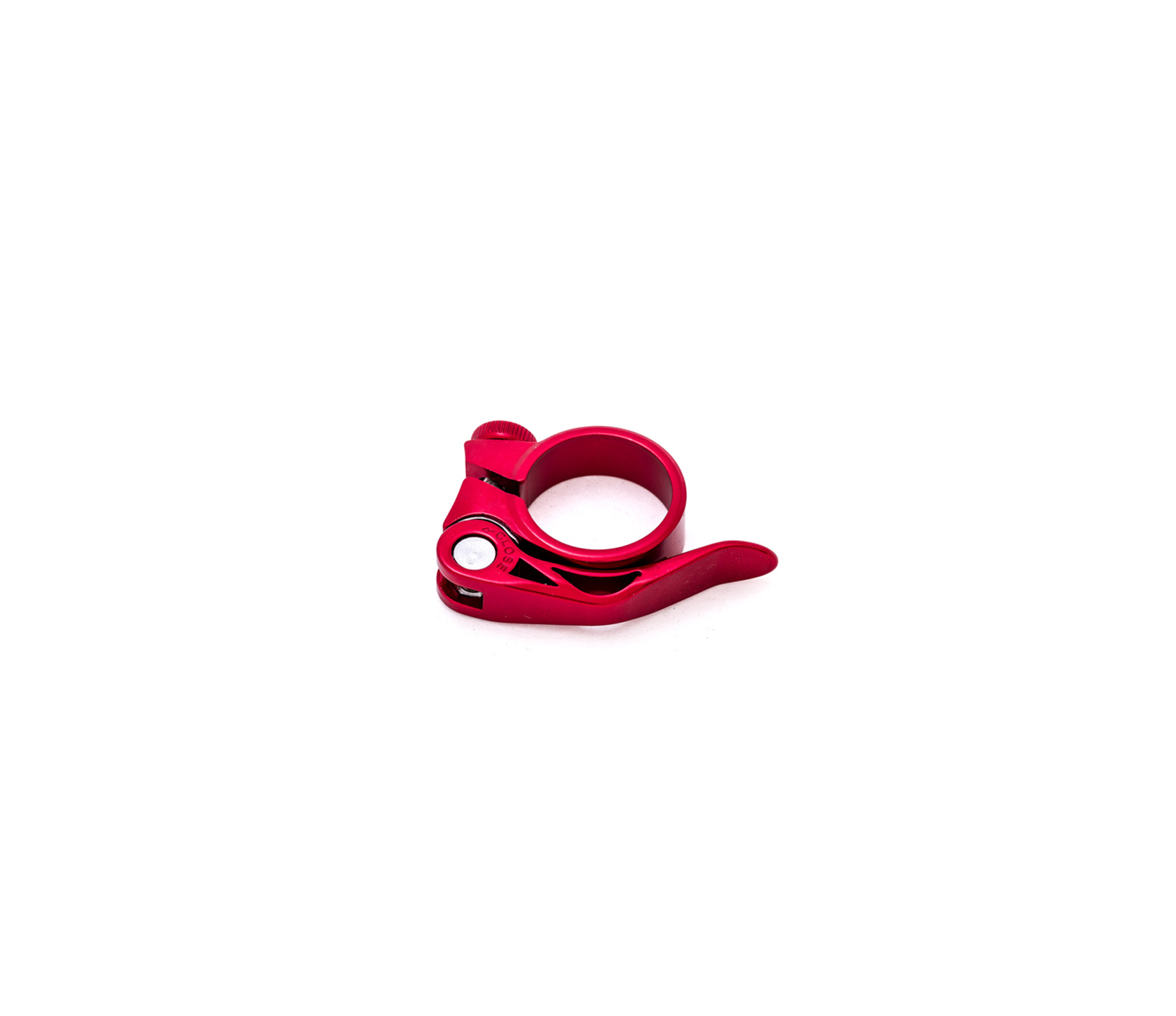 349 RED ALUMINUM SEAT POST CLAMP