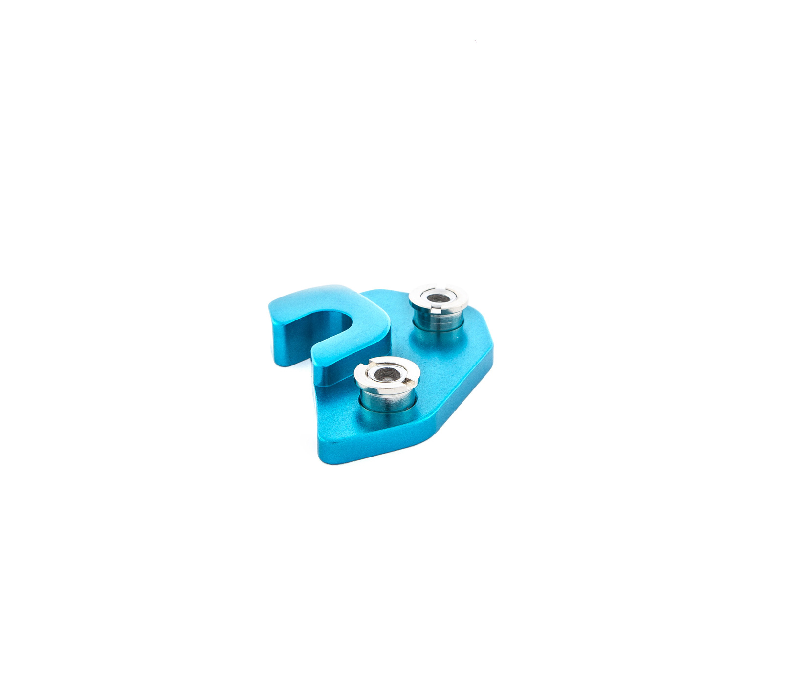 BLUE LEFT DERAILLEUR HANGER FOR RALLON MODELS