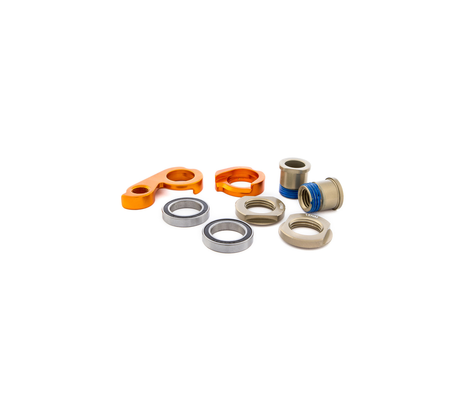 ORANGE DROP OUT KIT FOR AXLE X12 FOR OCCAM MODELS